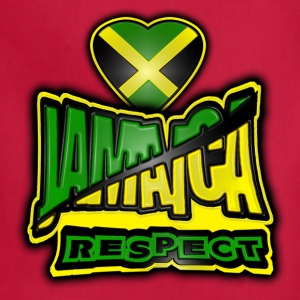 jamaica respect T-Shirts - Adjustable Apron
