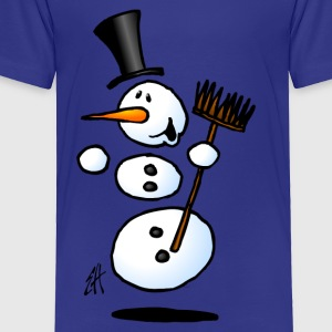 Dancing snowman Kids' Shirts - Toddler Premium T-Shirt