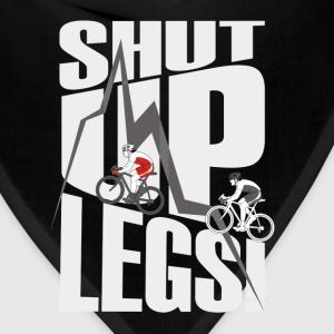 shut up legs Jen Voigt Tour De France Cycling T-Shirts - Bandana