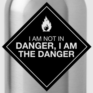 I am the danger - Water Bottle