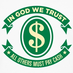 In God We Trust 2 (2c)++2012 T-Shirts - Men's Premium Long Sleeve T-Shirt