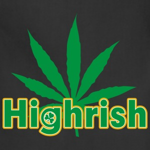 Irish Cannabis T-Shirt - Adjustable Apron