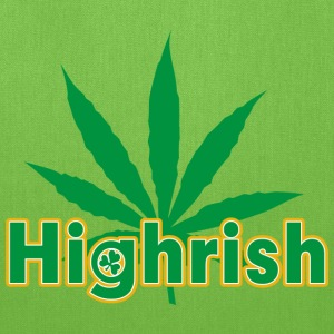 Irish Cannabis T-Shirt - Tote Bag