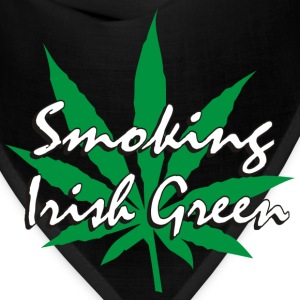 Smoking Irish Green T-Shirt - Bandana