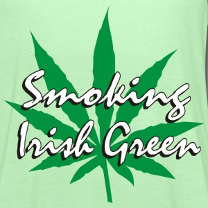 Smoking Irish Green T-Shirt - Women's Flowy Tank Top by Bella