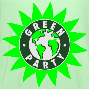 Green Party Symbol T-Shirt - Women's Flowy Tank Top by Bella