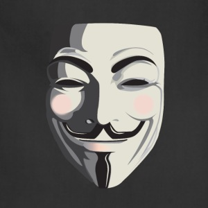 Anonymous T-Shirt - Vendetta, Guy Fawkes, ACTA - Adjustable Apron
