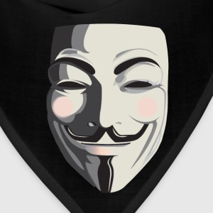 Anonymous T-Shirt - Vendetta, Guy Fawkes, ACTA - Bandana