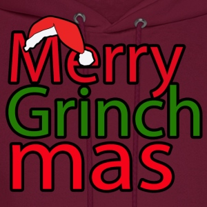 Merry Grinch Mas - Men's Hoodie