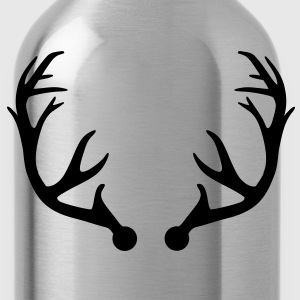Deer antlers Kids' Shirts - Water Bottle