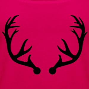 Deer antlers Kids' Shirts - Women's Premium Tank Top