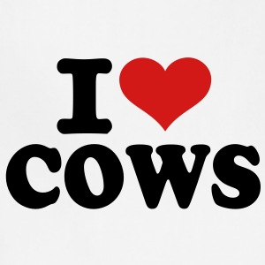 I love Cows Women's T-Shirts - Adjustable Apron