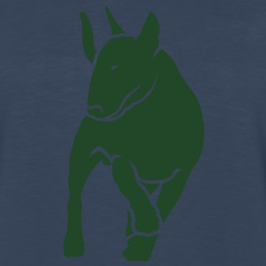 Bull Terrier inMotion T-Shirts - Men's Premium Long Sleeve T-Shirt