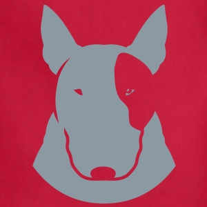Bull Terrier stylehead_orig T-Shirts - Adjustable Apron