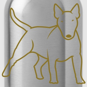 Bull Terrier bully_1c T-Shirts - Water Bottle
