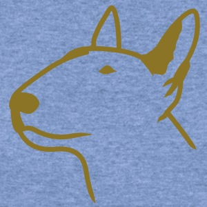 Bull Terrier Head T-Shirts - Women's Wideneck Sweatshirt