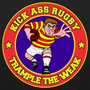 Kick Ass Rugby T-Shirt - Men's Premium Tank