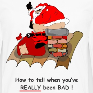 bad santa T-Shirts - Men's Premium Long Sleeve T-Shirt