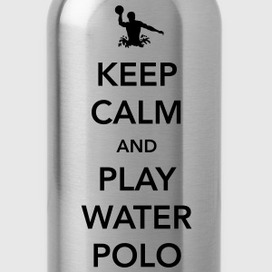 Keep Calm and Play Water Polo T-Shirts - Water Bottle