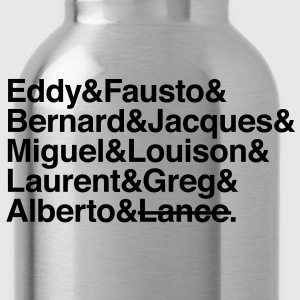 cycling legends except lance T-Shirts - Water Bottle
