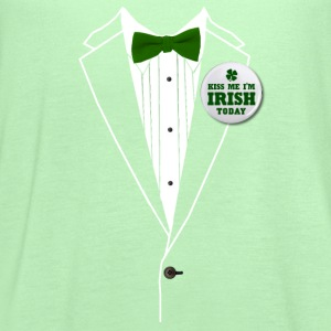 St. Patrick's Day Tux T-Shirts - Women's Flowy Tank Top by Bella