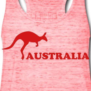 Australia kangaroo T-Shirts - Women's Flowy Tank Top by Bella
