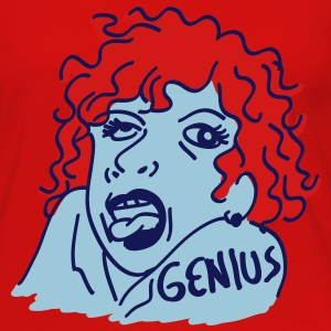 genius girl - Women's Premium Long Sleeve T-Shirt