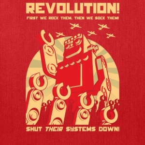 Robot Revolution T-Shirts - Tote Bag