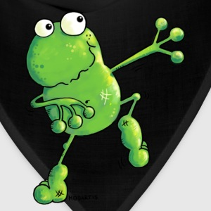 Green Power Frog T-Shirt - Bandana