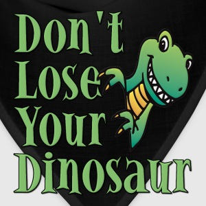 Don't Lose Your Dinosaur Stepbrothers Kids' Shirts - Bandana