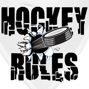 Hockey Rules T-Shirt - Bandana
