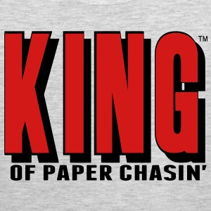KING OF PAPER CHASIN' T-Shirts - Men's Premium Tank