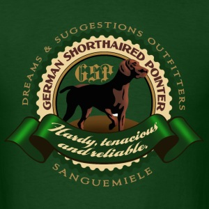 german_shorthaired_pointer_htr T-Shirts - Men's T-Shirt