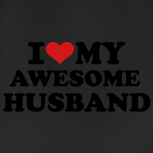 I love my awesome husband Women's T-Shirts - Leggings