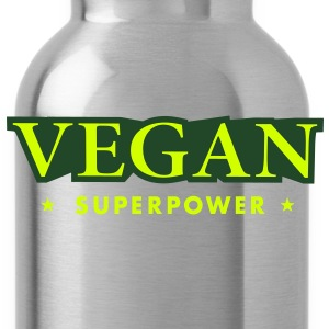 SUPER VEGAN POWER T-Shirts - Water Bottle