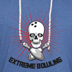 Extreme Bowling T-Shirt - Unisex Lightweight Terry Hoodie