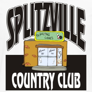 Bowling Splitzville Country Club T-Shirt - Men's Premium Long Sleeve T-Shirt