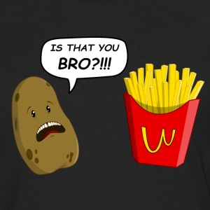 potato T-Shirts - Men's Premium Long Sleeve T-Shirt