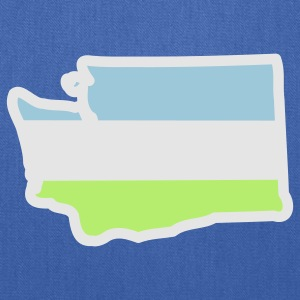 washington_cascadia_colors Women's T-Shirts - Tote Bag