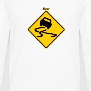 tipsy funny bro pub bar club truck stop novelty te - Men's Premium Long Sleeve T-Shirt