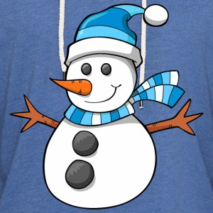 snowman, christmas, new year - Unisex Lightweight Terry Hoodie