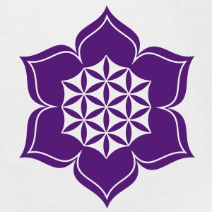 Flower of life, Lotus-Flower, vector, c, energy symbol, healing symbol Women's T-Shirts - Bandana