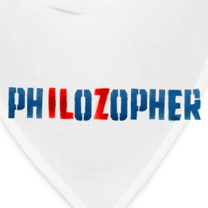 PHILOZOPHER by Tai's Tees - Bandana