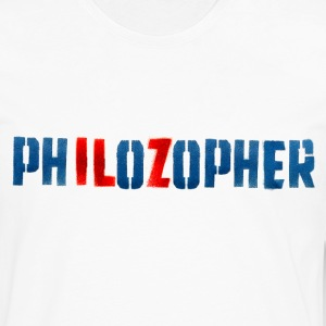 PHILOZOPHER by Tai's Tees - Men's Premium Long Sleeve T-Shirt