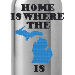 Home Is... T-Shirts - Water Bottle
