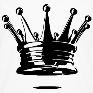 Men's Crown T-Shirt - Men's Premium Long Sleeve T-Shirt
