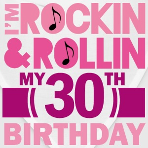 30th Birthday (Rock and Roll) Womens T Shirt | Adu - Bandana