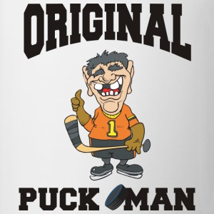 Hockey Original Puck Man T-Shirt - Coffee/Tea Mug