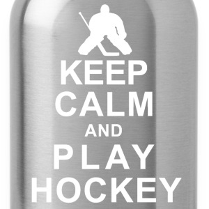 Keep Calm And  Play Hockey T-Shirts - Water Bottle
