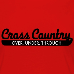 cross country T-Shirts - Women's Premium Long Sleeve T-Shirt